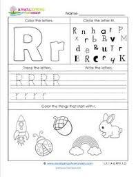 abc worksheets letter r alphabet worksheets a wellspring