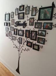 if you have the wall space you can have a family tree stencils