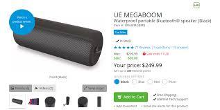 ue megaboom black friday deal alert ue megaboom 50 off on amazon best buy crutchfield