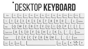 disposition bureau vecteur d isolement par clavier calibre de disposition clavier