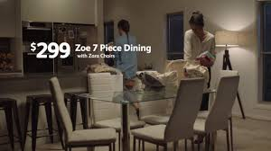 fantastic furniture tv commercial bondi bed zoe dining table