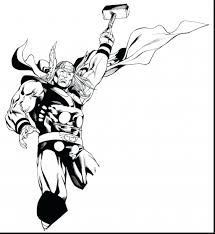 coloring page thor coloring page top pages pic hammer thor