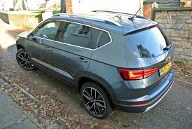 seat ateca blue seat ateca is an suv in a sharp suit the furious engineer
