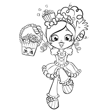 shopkins shoppies coloring pages getcoloringpages com