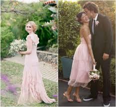 blush wedding dress trend bridal trend blush wedding gowns the celebration society
