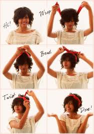 wire headband how to wear a wire fabric headband bendy hair tip tuesday