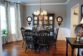 Dining Rooms With Wainscoting Country Dining Room With Wainscoting U0026 Hardwood Floors In Acworth