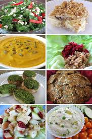 foods for a complete vegan thanksgiving or winter