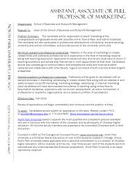 sample resume for adjunct professor position awesome neoteric