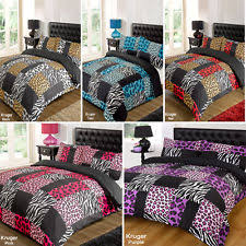 animal print bedding sets and duvet covers ebay