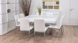 white dining table seats 8 dining rooms