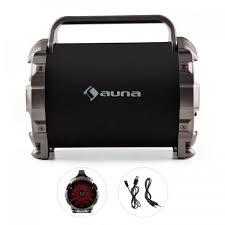 led light bluetooth speaker blaster m portable bluetooth speaker led light effect aux sd usb fm