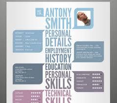 cool resume templates free jospar