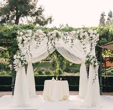 wedding chuppah 33 best houppa images on wedding arches chuppah