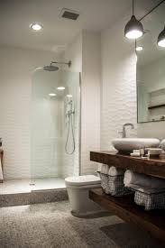 sleek sculptural master bathroom 2014 hgtv