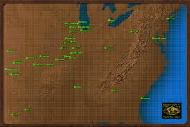 Fallout 4 Map by East Coast Fallout Wiki Fandom Powered By Wikia