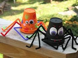 Preschool Halloween Craft Ideas - aranya manualitats amb nens pinterest spider craft and