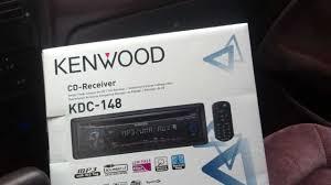 1991 honda accord kenwood cd player kdc 148 aux ipod iphone al
