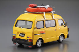 1969 subaru sambar 1 24 subaru tt1 sambar high roof 4wd u002780 aoshima english
