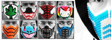 bead masks kandigear spreading the one bead at a time glow in the