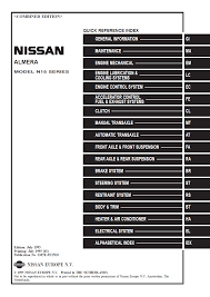 100 1991 nissan pick up truck service manual nissan u0026