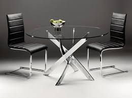 Glass Circular Dining Table Chelsea Circular Dining Table 130cm From Dansk Contemporary
