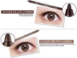 light brown gel eyeliner holika holika jewel light waterproof eyeliner my luna story