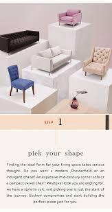 design your own furniture anthropologie anthropologie