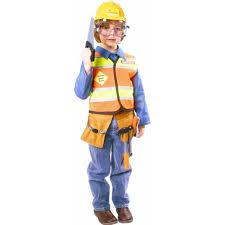 dress up america boys u0027 construction worker costume walmart com