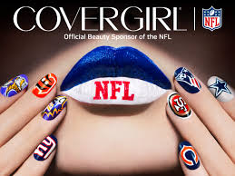 correcting and replacing covergirl and nfl team up to put