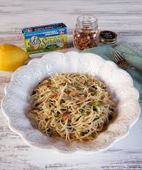 light olive oil pasta sauce mediterranean sardine pasta with lemon capers and chili flakes