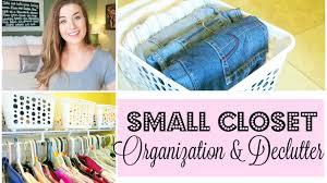 small closet declutter and organization ideas dollar tree