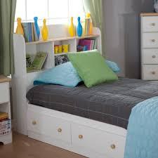 rangement livre chambre chambre à coucher tête lit rangement étagères livres chambre
