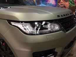 metallic land rover custom grafix midnight matte sand metallic range rover paint