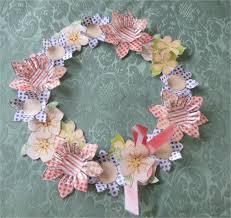paper crafts u2013 spring floral wreath u2013 yellow ammey u0027s art attic