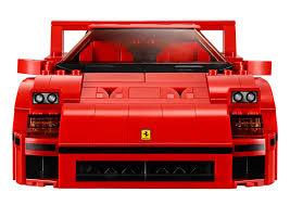 lego ferrari f40 announced iconic 1987 supercar u0027s blockbuster toy