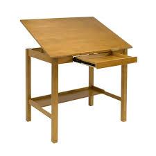 Adjustable Drafting Table Plans Studio Designs Americana Ii 42 Inch Wide Light Oak Wood Drafting