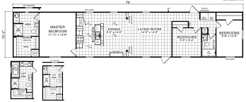 4 Bedroom 2 Bath Mobile Homes Nolan 16 X 76 1152 Sqft Mobile Home Factory Expo Home Centers