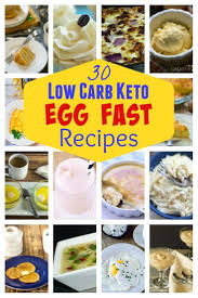 egg recipes for dinner egg fast diet plan recipes for weight loss low carb yum