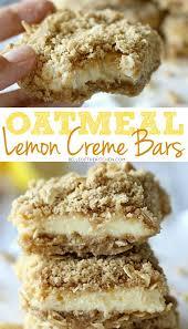 Oatmeal Toppings Bar Oatmeal Lemon Creme Bars Belle Of The Kitchen