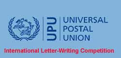 Apply Universal Postal Union International Letter Writing Universal Postal Union Upu International Letter Writing Competition
