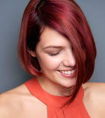 best hairstyles for short red hair