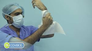 Surgical Gowns And Drapes Cover X Sterile Disposable Drapes And Gowns Video Tutorial Youtube