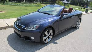 lexus convertible 2008 2011 lexus is250 convertible s127 louisville 2016