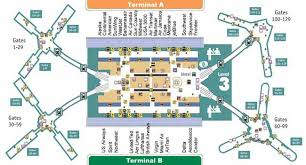 mco terminal map mco airport map my
