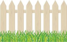 Backyard Clip Art Picket Fence Clipart Cliparts For You