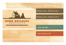 Business Card For Construction Company Home Builders U0026 Construction Print Template Pack From Serif Com