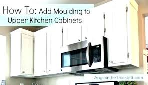 kitchen cabinet moulding ideas kitchen cabinet moulding whitekitchencabinets org