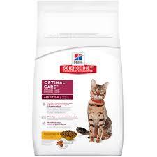 hill u0027s science diet optimal care chicken recipe cat food petco