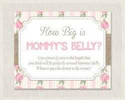 shabby chic baby shower how big is mommy u0027s belly floral